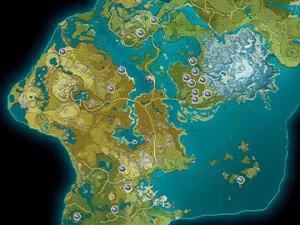 Mapa Jade Noctilucoso en Genshin Impact