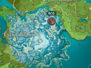 Pinos en Genshin Impact