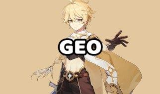 Viajero Geo en Genshin Impact