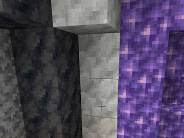 Capas de la Geoda de Amatista en Minecraft