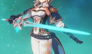 Hoja Afilada Celestial en Genshin Impact
