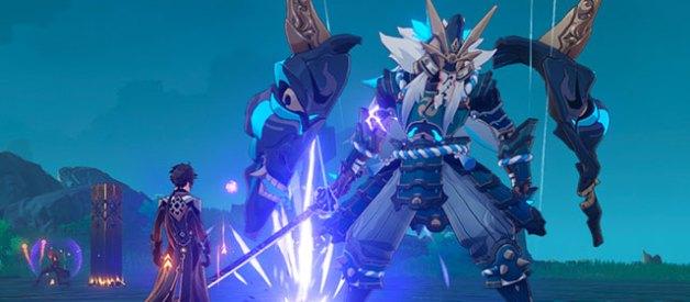 Oni Espadachin en Genshin Impact