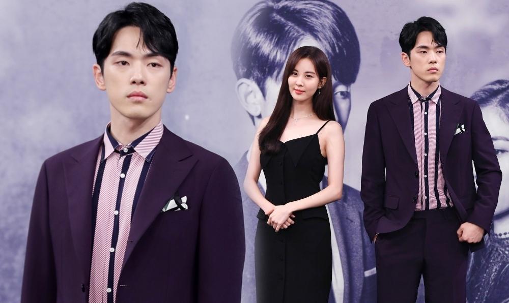 """ชาวเน็ตวิจารณ์หนักถึงการกระทำของพระเอกหนุ่ม """"คิมจองฮยอน"""" ในงานแถลงข่าวเปิดตัวละครใหม่"""