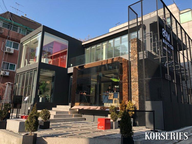 Cafe 89 Mansion คาเฟ่อีจงซอก