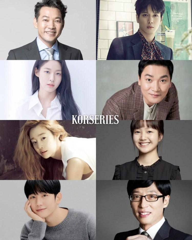 จองจินยอง / จองยงฮวา CNBLUE / ซอลฮยอน AOA / โจแจยุน / ชเวยอจิน / อีแชยุน / จองแฮอิน / ยูแจซอก