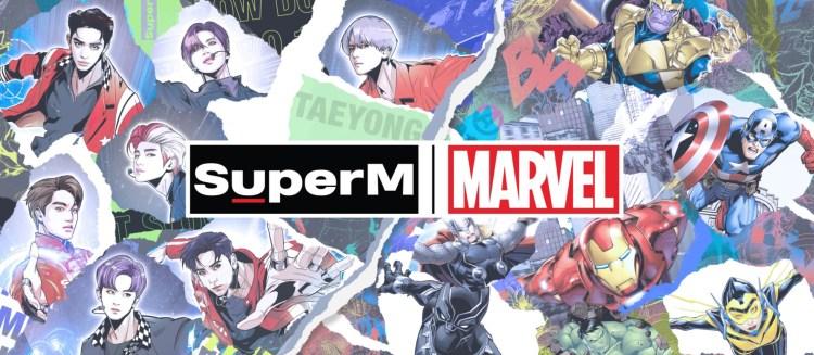 SuperM Marvel