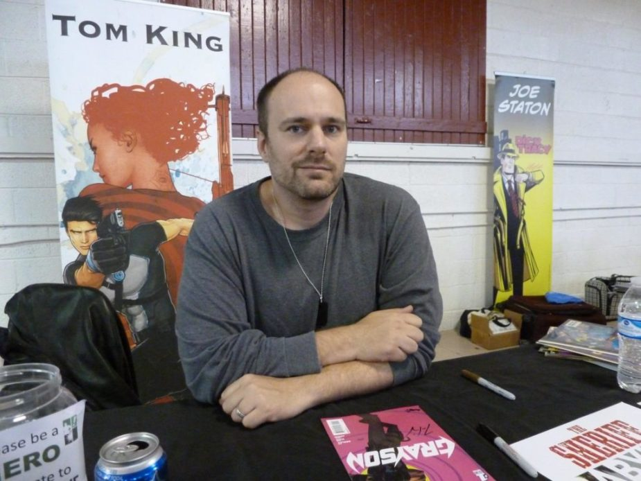 Image result for Tom King person