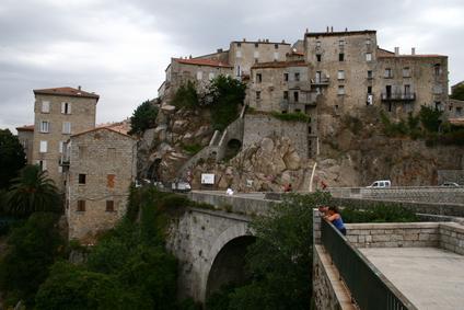 Altstadt auf Korsika Sartene