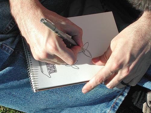 ap's sketchbook by one deep drawer