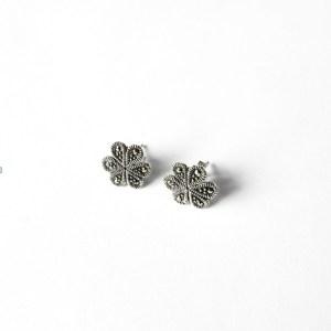markasiitti-hopeakorvakorut