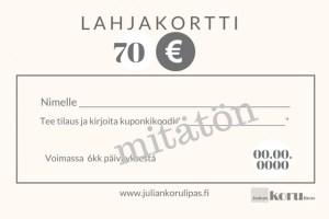 Lahjakortti-netistä