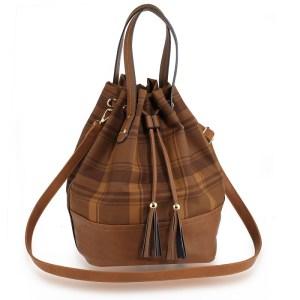 muotilaukku-ruskea