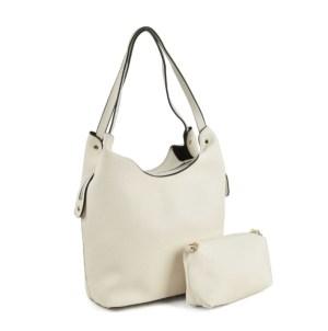 muotilaukku-valkoinen