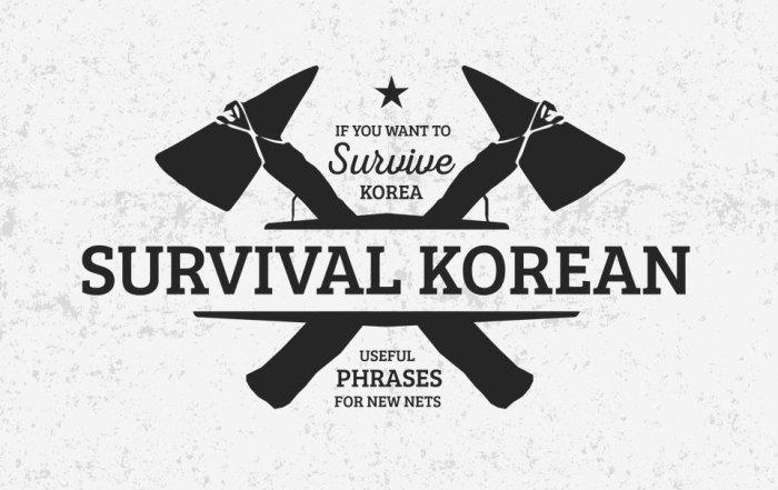 Survival Korean for New English Teachers