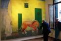 Пітер Дойг. Молодий лев, 2015. Експозиція в Фундації Бевільаква ла Маса.