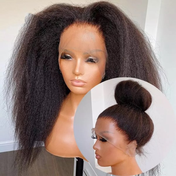 FULL LACE WIG KINKY LISSE INDIENNE