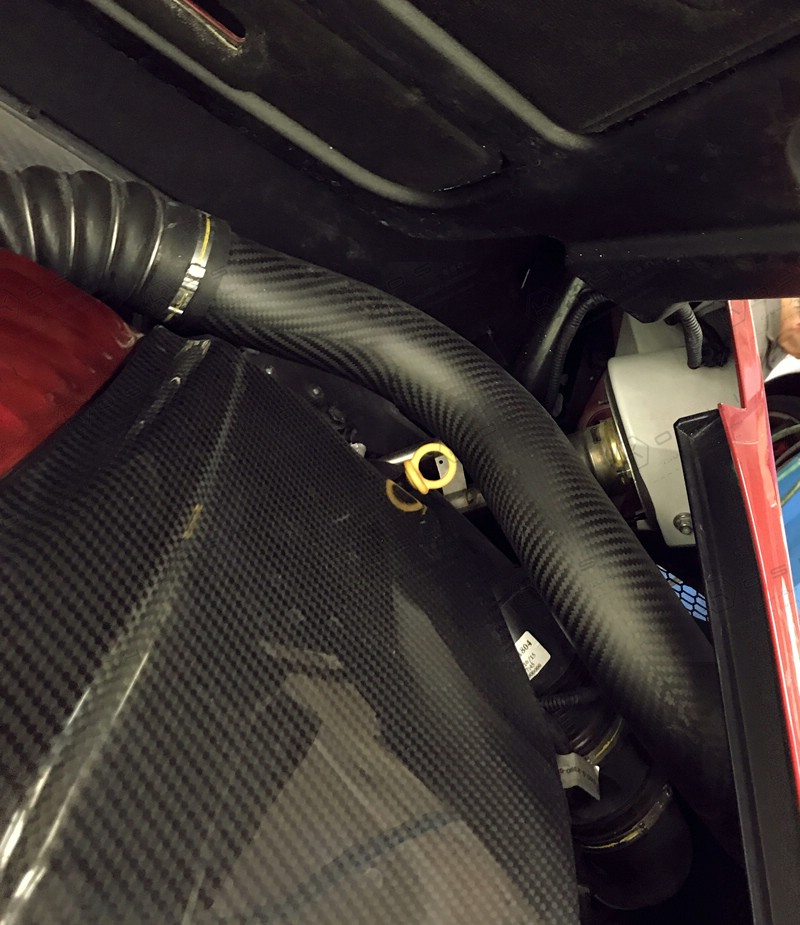Alfa Romeo 4c Air Intake Engine