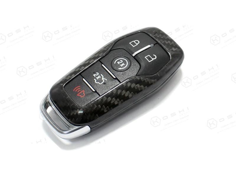 carbon fiber ford mustang key cover koshi group llc
