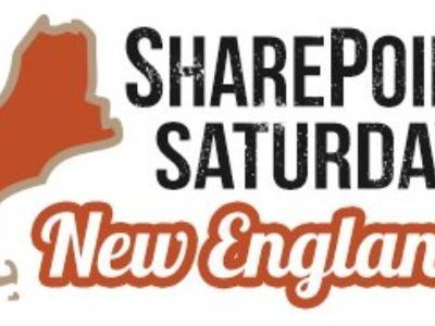 Speaking at SPS New England on 10/20!