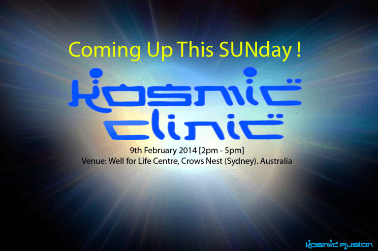 Kosmic Clinic - Sydney Australia February 2014