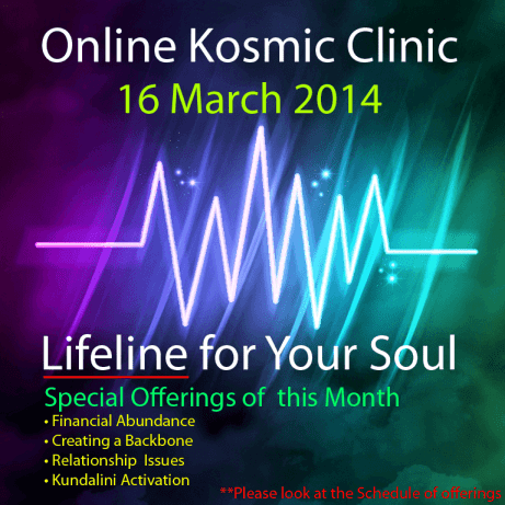 Online Kosmic Clinic March 2014