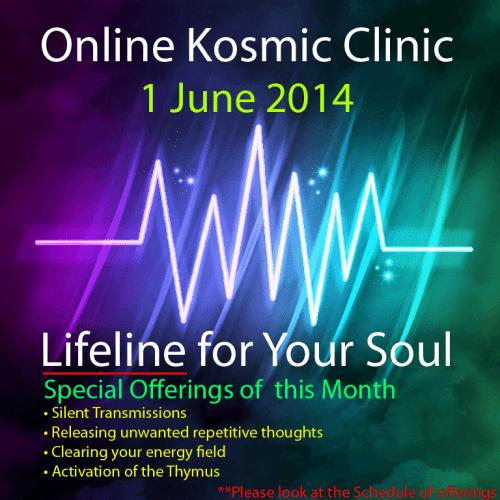 Quantum Vortex Online Kosmic Clinic June 2014