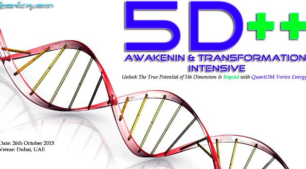 Kosmic Fusion® – 5D++ AwaKeNiN & TrANsForMaTioN Intensive Workshop Dubai, UAE - [October 2015] - Kosmic Fusion - Home of Quantum Vortex Energy® small