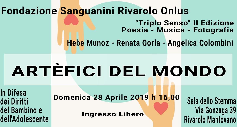 Poesia Musica e Fotografia a Rivarolo Mantovano con Triplo Senso