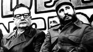 chile-Fidel-Castro-Salvador-Allende