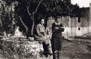 Η Έλλη Παπαδημητρίου στην Κρήτη την δεκαετία του 1930