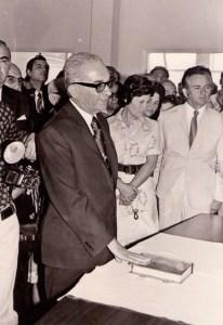 Ο Τάσος Αμπατζής ορκίζεται Δήμαρχος (αρχείο Νίκου Αμπατζή)