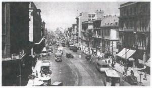 Η οδός Πανεπιστημίου στα μέσα της δεκαετίας του '30