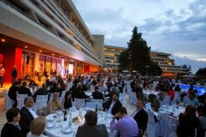 Τρυφερό ενσταντανέ από το πρόσφατο συνέδριο της ΚΕΔΕ στο Πόρτο Καρράς της Χαλκιδικής