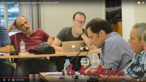 Οι αντιδήμαρχοι κύριοι Καλαμπόκης και Κουμαριανός και ο πρόεδρος του ΔΣ κ. Πάνος παρακολουθούν με ενδιαφέρον τον απολογισμό του δημάρχου Άρη Βασιλόπουλου στη συνεδρίαση της 13ης Ιουλίου. Εικόνα από το βίντεο που ανάρτησε η τοπική ιστοσελίδα e-kafeneio.gr