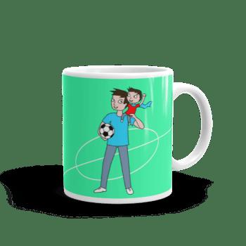 Soccer dad – brown hair