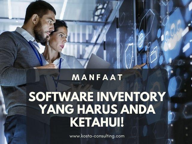 Manfaat Software Inventory