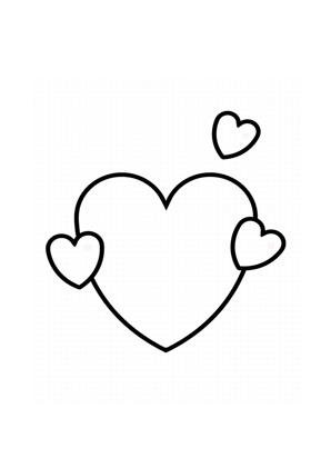 Herz Herzen Ausmalen Malvorlagen