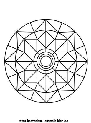 Ausmalbilder Mandala 16 Mandalas Zum Ausmalen