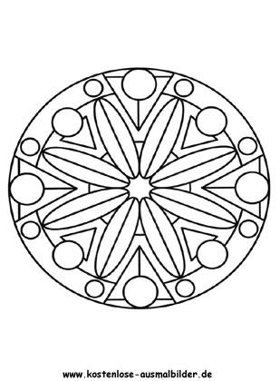 Ausmalbilder Mandala 3 Mandalas Zum Ausmalen