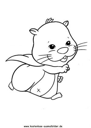 Hamster Spielzeug1 Ausmalen Malvorlagen Zhu Zhu Pets