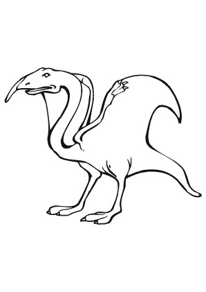 Ausmalbilder Flugsaurier Tiere Zum Ausmalen