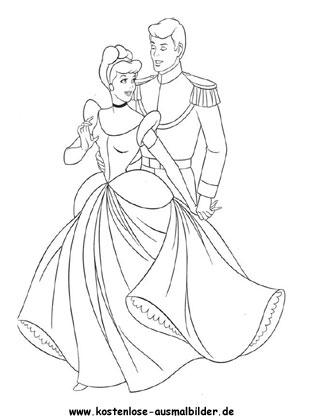 Ausmalbilder Cinderella 2 Film Zum Ausmalen