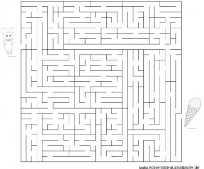 Labyrinth Vorlagen Ausdrucken