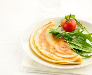 millefeuilles d omelette