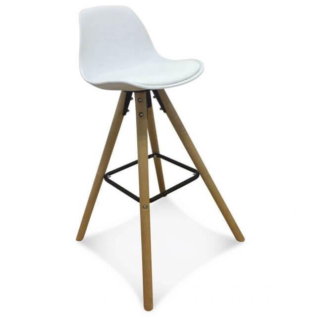 chaise de bar scandinave blanche kotecaz fr