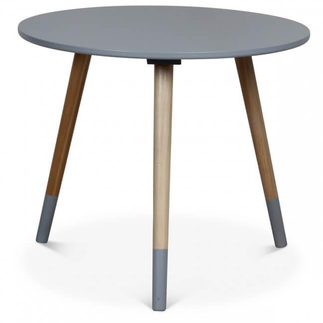 table d appoint en bois grise table basse auxiliaire kotecaz