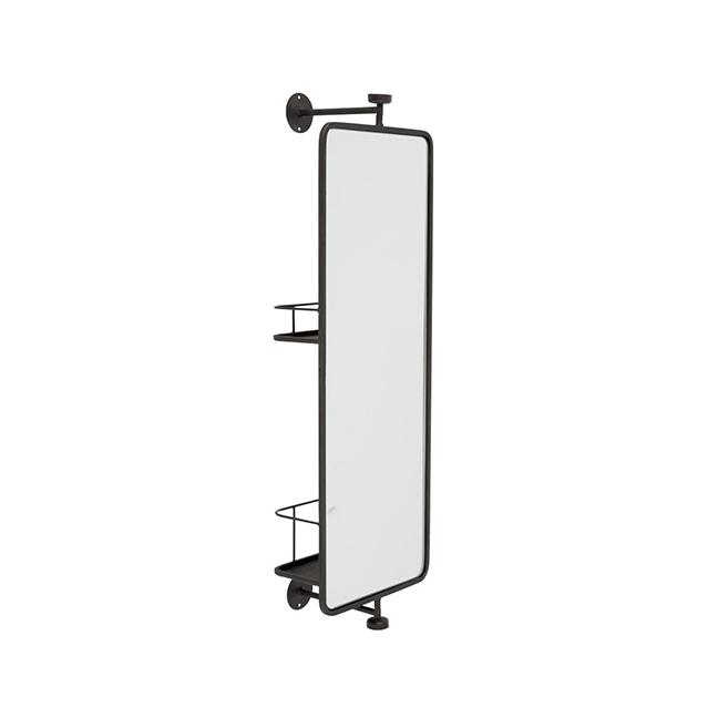 miroir mural pivotant