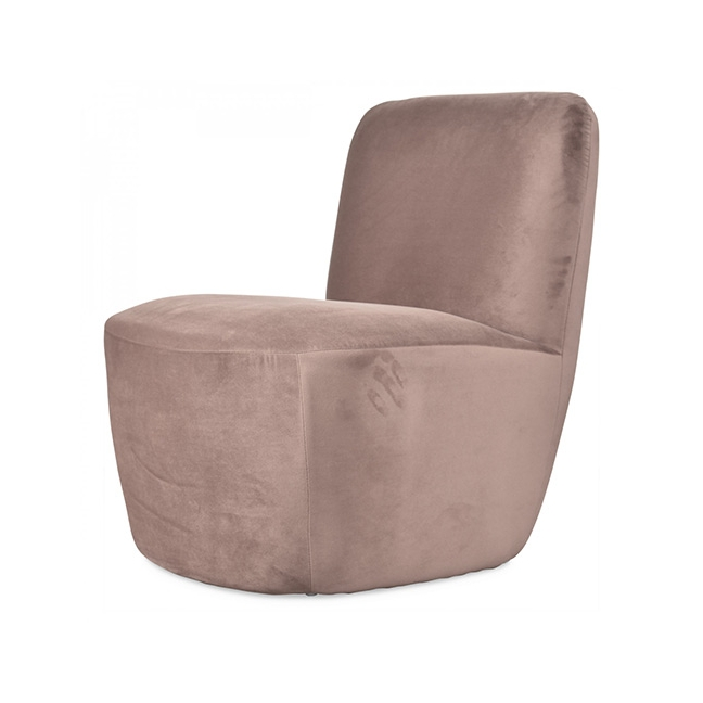 fauteuil velours couleur taupe kotecaz