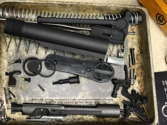 AR 15 breakdown