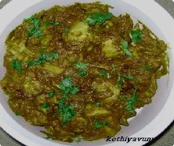 Green Chilli Chicken Curry – Pachamulaku Aracha Kozhi Curry – My Version